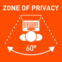 Privacy Zone 60°