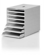GREY IDEALBOX PLUS  Storage Trays for Documents