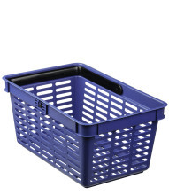 BLUE SHOPPING BASKET 19