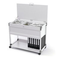SYSTEM FILE TROLLEY 100 MULTI TOP