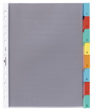 Punched Pocket Index Sets 8