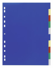Index Set with Coloured Tabs