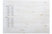 Kalenderblock PINEWOOD PANELS
