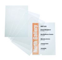 Crystal Sign Insert Pack for 4825/4818