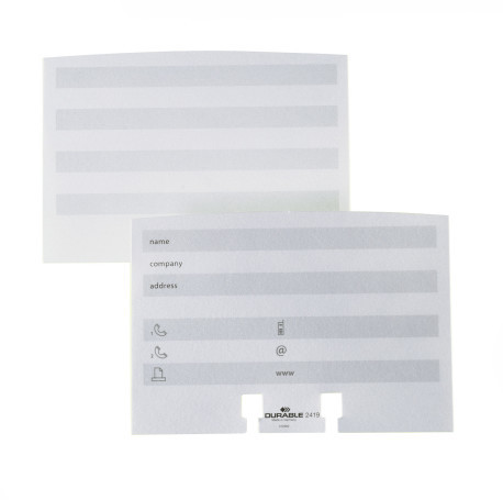 Telephone Address Cards Extension Set