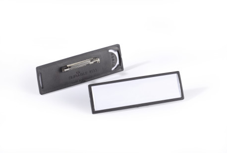 Clip-Card with Flat Pin