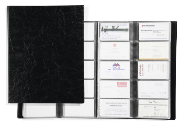 Visifix 400 Business Card Album Durable