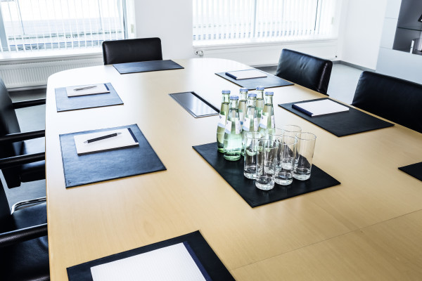 Leather Desk Mat For Conference Rooms Durable